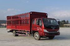 时骏国四单桥仓栅式运输车129-132马力5吨以下(LFJ5090CCYG1)