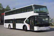 宇通牌ZK6116CHEVGS1型混合动力双层城市客车图片