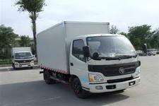 福田欧马可国三单桥厢式运输车118-131马力5吨以下(BJ5041V9BD6-FA)