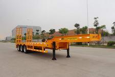 港粤13米29.5吨3轴低平板半挂车(HSD9400TDP)