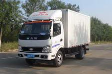 五征牌WL2810X1型厢式低速货车图片