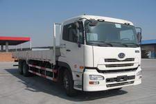东风日产柴国三后双桥,后八轮货车389马力13吨(DND1253CWB4BLVHLBZ)