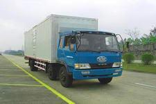 柳特神力牌LZT5211XXYPK2E3L9T3A95型平头厢式运输车图片