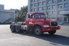 解放后双桥,后八轮平头柴油半挂牵引车314马力(CA4250P21K2T1E)