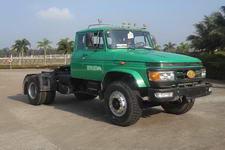 解放牌CA4158K2R5EA80型长头柴油牵引车图片