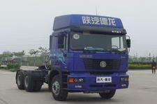 陕汽后双桥,后八轮牵引车330马力(SX4255NT384TL)