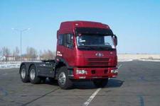 解放后双桥,后八轮6X4平头柴油半挂牵引车310马力(CA4252P21K2T1E)