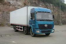 柳特神力牌LZT5212XXYPK2E3L9T3A95型平头厢式运输车图片