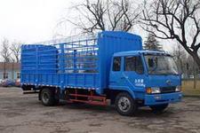 华凯牌CA5160CLXYK28L5BE3A型仓栅运输车