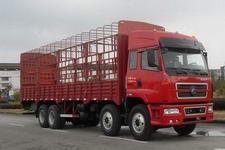 东风柳汽国三前四后八仓栅式运输车271-316马力10-15吨(LZ5244CSPEL)