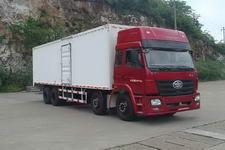 柳特神力牌LZT5312XXYP2K2E3L11T4A92型平头厢式运输车图片