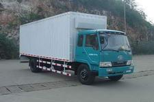 柳特神力牌LZT5161XXYPK2E3L1A95型平头厢式运输车图片