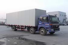 福田欧曼国三前四后四厢式运输车185-211马力5-10吨(BJ5167VJCHH-S)