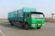 青岛解放国三前四后四仓栅运输车223-256马力10-15吨(CA5253CLXYP7K2L11T3AE)