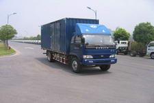 上汽跃进国三单桥厢式运输车140马力5-10吨(NJ5120XXY-DDPW)