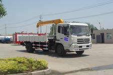 江特牌JDF5120JSQDFL型随车起重运输车