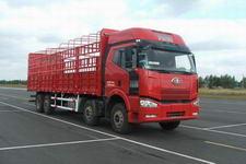 一汽解放国三前四后八平头柴油仓栅式运输汽车243-295马力10-15吨(CA5240CLXYP63K1L6T4A2E)