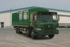 重汽豪沃(HOWO)国三前四后八仓栅式运输车336-379马力15-20吨(ZZ5317CLXN4667C)