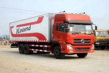 东风商用车国三后双桥,后八轮翼开启厢式运输车230-269马力10-15吨(DFL5250XXYKAX9)