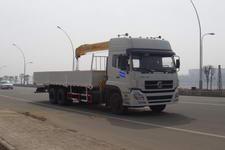 江特牌JDF5250JSQDFL型随车起重运输车