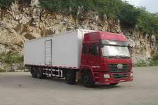 柳特神力牌LZT5313XXYP2K2E3L11T4A92型平头厢式运输车图片