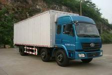 柳特神力牌LZT5251XXYPK2E3L4T3A95型平头厢式运输车图片