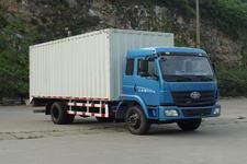 柳特神力牌LZT5162XXYPK2E3L1A95型平头厢式运输车图片