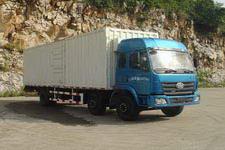 柳特神力牌LZT5251XXYPK2E3L9T3A95型平头厢式运输车图片