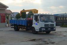 江特牌JDF5121JSQDFL型随车起重运输车