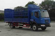东风柳汽国三单桥仓栅式运输车136-143马力5-10吨(LZ5163CSRAP)