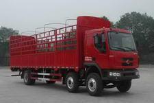 东风柳汽国三前四后四仓栅式运输车211-220马力10-15吨(LZ5250CSRCS)