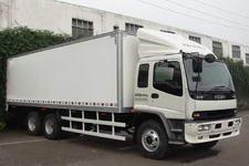 庆铃国三后双桥,后八轮厢式货车301马力10-15吨(QL5250XRTFZ1J)