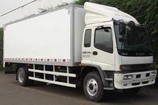 庆铃国三单桥厢式货车242马力5-10吨(QL5150XWQFR1J)