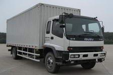 庆铃国三单桥厢式货车242马力5-10吨(QL5150XWQFRJ)