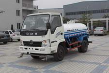 王牌牌CDW4020SS1型洒水低速货车图片