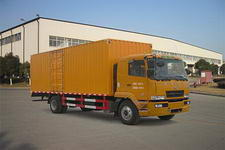 华菱国三单桥厢式运输车180马力5-10吨(HN5121Z18E6M3XXY)