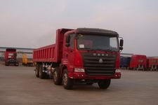 豪运前四后八自卸车国三320马力(ZZ3315N4265C2L)