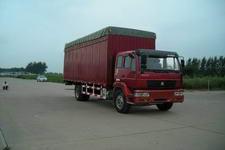 黄河牌ZZ5164XXBK4215C1型篷式运输车