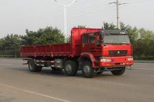 绿叶前四后四自卸车国三220马力(JYJ3252)