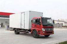 福田欧马可国三单桥厢式运输车170马力5-10吨(BJ5169XXY-FA)