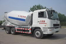 楚胜牌CSC5250GJBH12型混凝土搅拌运输车