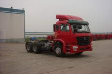 豪瀚牌ZZ4255M3246C1Z型集装箱半挂牵引车图片
