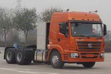 陕汽后双桥,后八轮牵引车336马力(SX4256GR384H)