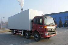 福田欧曼国三前四后四厢式运输车220-231马力10-15吨(BJ5253VMCHH-1)