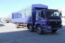 福田欧曼国三前四后四仓栅式运输车185-212马力10-15吨(BJ5253VMCHL-S1)
