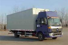 福田欧曼国三单桥翼开启厢式运输车160马力5-10吨(BJ5163VJCHN-3)