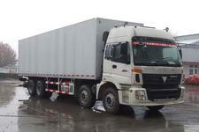 福田欧曼国三前四后八厢式运输车336-385马力15-20吨(BJ5313VNCJJ-S)