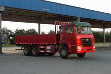 豪瀚国三后双桥,后八轮货车241马力8吨(ZZ1165K4043C1)