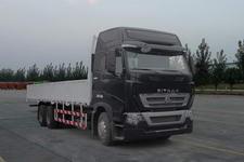 汕德卡国三后双桥,后八轮货车394马力13吨(ZZ1257V584HC1)