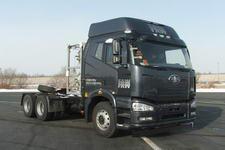 解放牌CA4250P66T1A3E22M4型平头液化天然气半挂牵引车图片